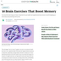 10 Brain Exercises That Boost Memory