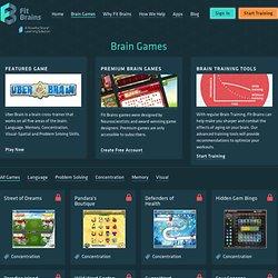 Play Brain Games — Fitbrains.com