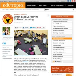 Brain Labs: A Place to Enliven Learning
