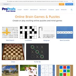 Brain Games: Play Free Puzzle Games Online, Free Puzzles