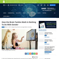 How the Brain Tackles Math Is Nothing To Do With Gender