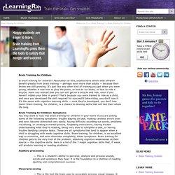 Brain Training for Children