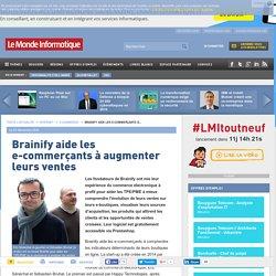 Brainify aide les e-commerçants à augmenter leurs ventes
