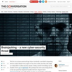 Brainjacking – a new cyber-security threat
