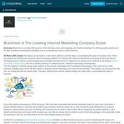 Brainmine Is The Leading Internet Marketing Company Dubai: brainmineae