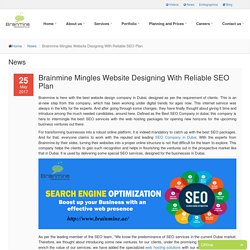 Brainmine Mingles Website Designing With Reliable SEO Plan