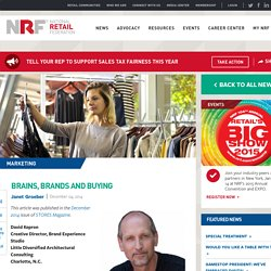 Brains, Brands and Buying