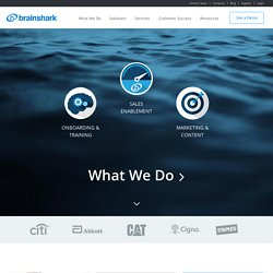 Online Presentations | Mobile Video Presentations | Brainshark