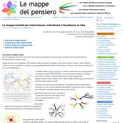 Le mappe mentali e le mappe concettuali per tessere reti