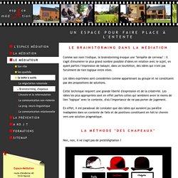 Le brainstorming et la méthode des chapeaux dans la médiation