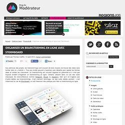 Organiser un brainstorming en ligne avec Stormboard