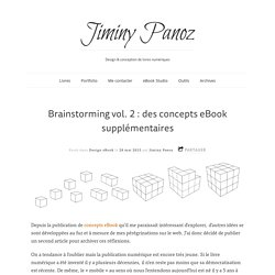 Brainstorming vol. 2 : des concepts eBook supplémentaires