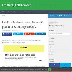 IdeaFlip. Tableau blanc collaboratif pour brainstormings créatifs - Les Outils Collaboratifs