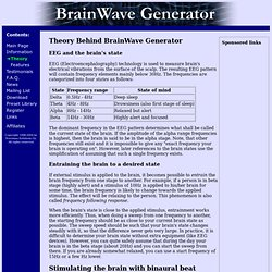 BrainWave Generator - Theory