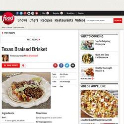 Texas Braised Brisket Recipe