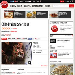Chile-Braised Short Ribs Recipe : Nancy Fuller