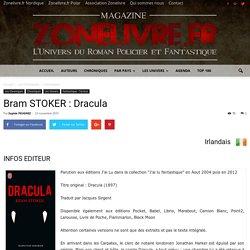 Bram STOKER : Dracula - Zonelivre
