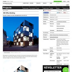 Atelier Thomas Pucher, Bramberger Architects — NIK Office Building