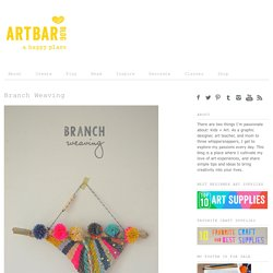 Branch Weaving - Art Bar