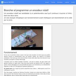 Brancher et programmer un encodeur rotatif