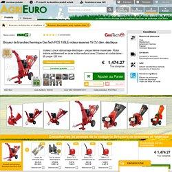 Broyeur à branches thermique 15 CV en promo sur AgriEuro