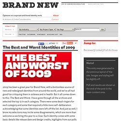The Best and Worst Identities of 2009 - Brand New - Flock