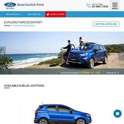 Brand New Ford Ecosport, Ecosport SUV for Sale Sydney
