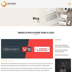 Brand is Much More Than A Logo