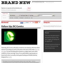 Follow-Up: DC Comics