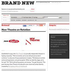 The New Theatre - The Sydney Office of Interbrand.