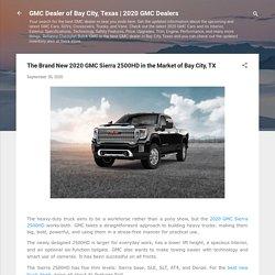 2020 GMC Sierra 2500HD in Bay City TX