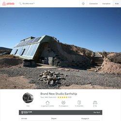 Brand New Studio Earthship à Taos