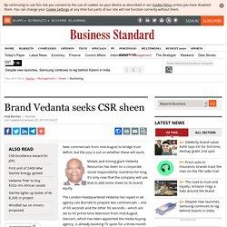 Vedanta Ad TVC - CSR via Vedanta Ad