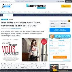 Brandalley : les internautes fixent eux-mêmes le prix des articles