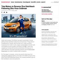 Tata Motors to Rename Zica Hatchback Following Zika Virus Outbreak