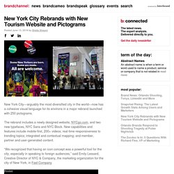New York City Rebrands with New Tourism Website and Pictograms