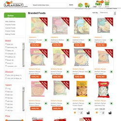 Best Place to Buy Branded Food Items & Healthy Food Online