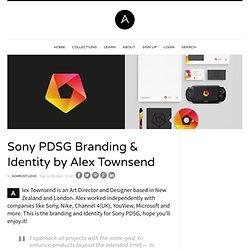 Sony PDSG Branding & Identity by Alex Townsend