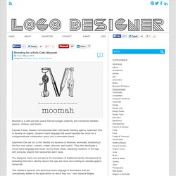 Branding for a Kid's Café: Moomah - Logo Designer