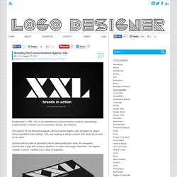 Branding for Communications Agency 'XXL' - Logo Designer