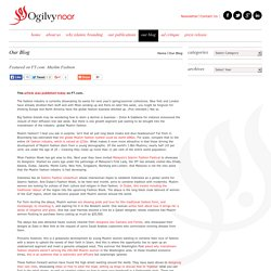 Islamic Branding Consultancy & Marketing for Muslim Consumer Markets - Ogilvy Noor