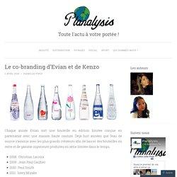 Le co-branding d'Evian et de Kenzo