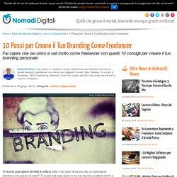 10 Passi per Creare il Tuo Branding Come FreelancerNomadi Digitali