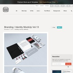 Branding / Identity MockUp Vol.13