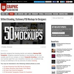 50 Free Branding PSD Mockups for Designers