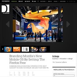 7 | Branding Mozilla's New Mobile OS By Setting The Firefox Free