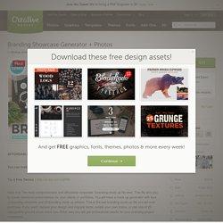 Branding Showcase Generator + Photos ~ Product Mockups on Creative Market
