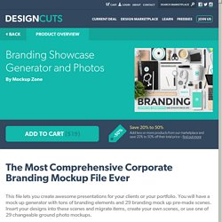 Branding Showcase Generator and Photos « Design Cuts