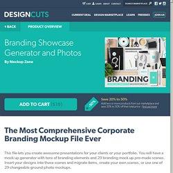 Branding Showcase Generator and Photos « Design Cuts