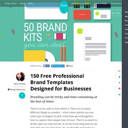 50 Free Branding Templates For Your Business